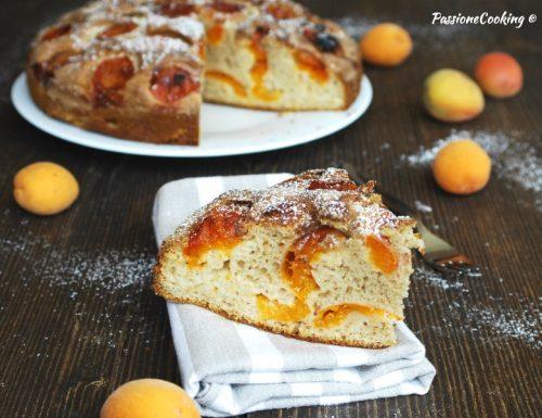 Torta con latte condensato e albicocche – sofficissima