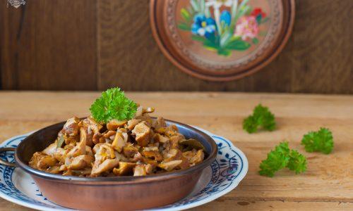 Finferli trifolati – ricetta semplice