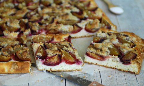 Torta di prugne – ricetta velocissima