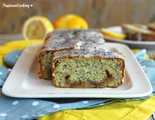 Torta al limone con cuore di marmellata – sofficissima