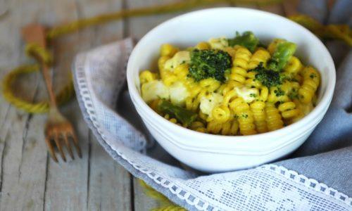Pasta con broccoli e zafferano – cremosa e filante
