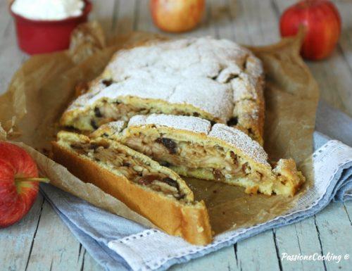 Strudel di mele con pasta frolla – ricetta dell'Alto Adige