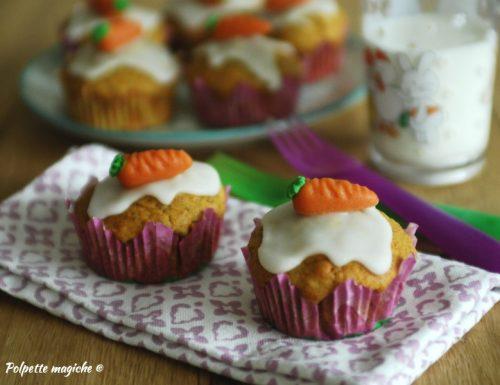 Muffin di carote – perfetti per la merenda
