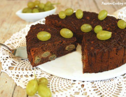 Torta all'uva e cioccolato – ricetta facile