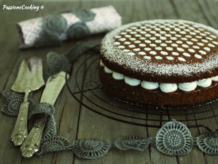 Hot milk sponge cake alle castagne
