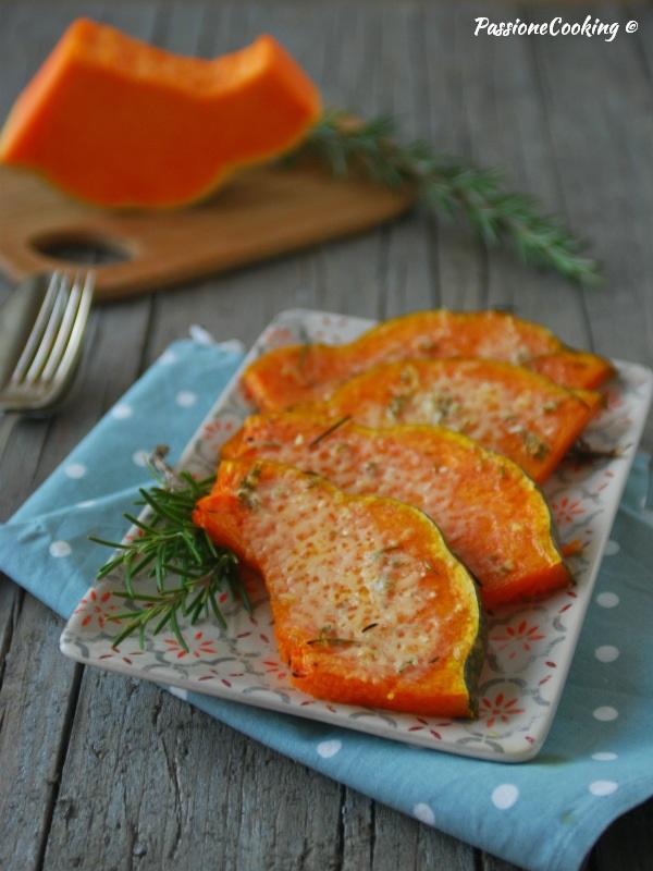 Zucca gratinata al forno - ricetta facile