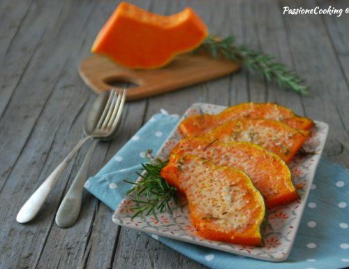 Zucca gratinata al forno – ricetta facile