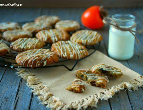 Biscotti ai cachi e cioccolato bianco