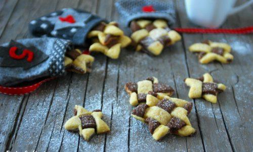 Biscotti bicolore intrecciati – semplici ma scenografici