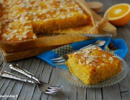 Torta di arance e mandorle – morbidissima