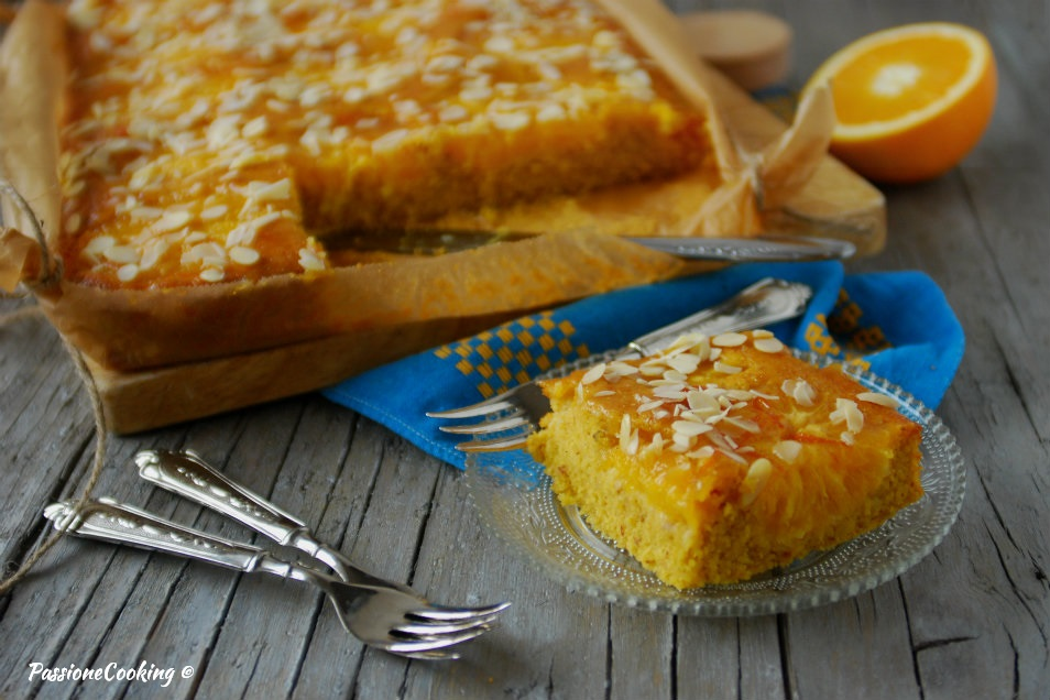 Torta di arance e mandorle - morbidissima