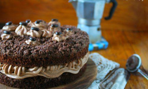 Torta al caffè e cioccolato – golosissima