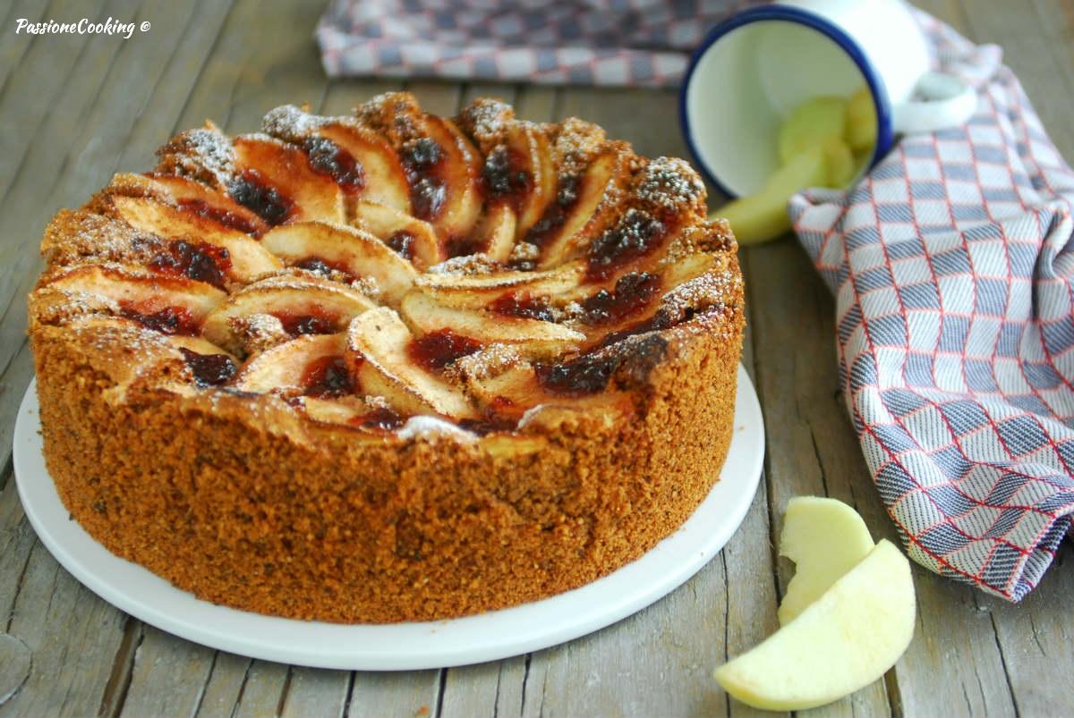 Torta con grano saraceno e mele - una morbida delizia