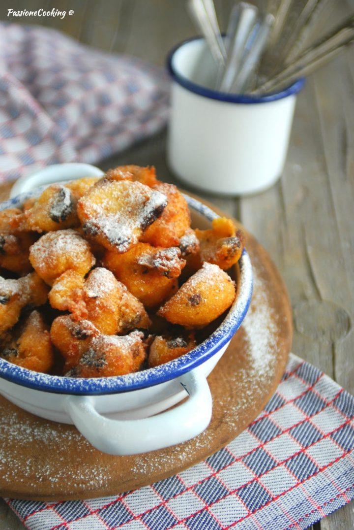 Frittelle di polenta dolci - ricetta di nonna Amelia