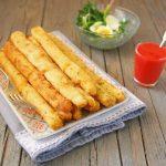 Asparagi fritti con salsa di fragole