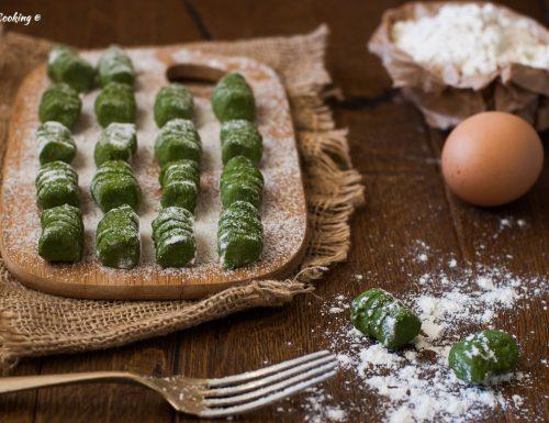 Gnocchi di biete erbette e patate