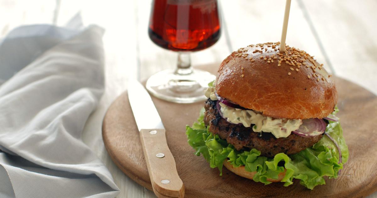 abbastanza Panini con hamburger di cervo - saporiti e gustosi | PassioneCooking IQ61