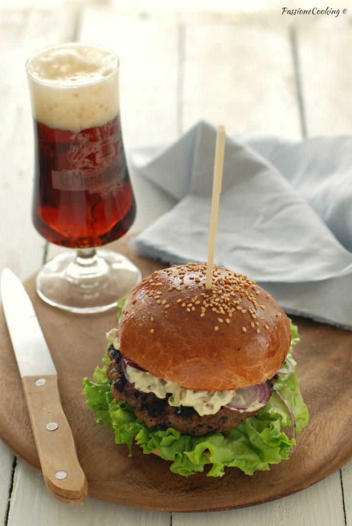 Panini con hamburger di cervo - saporiti e gustosi