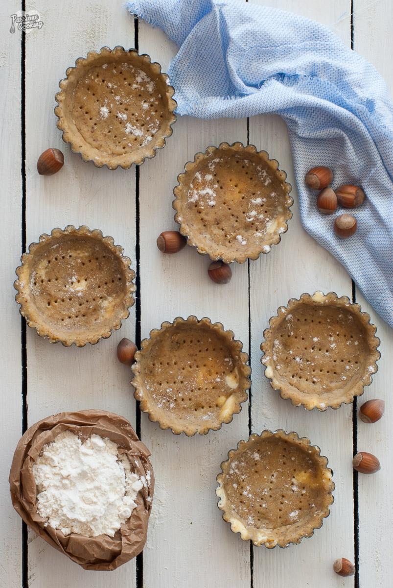 Pasta frolla alle nocciole - per crostate e biscotti