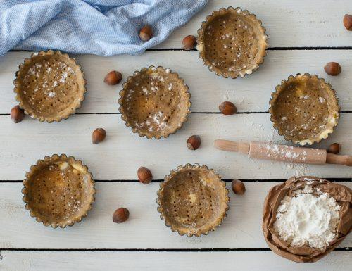 Pasta frolla alle nocciole – per crostate e biscotti