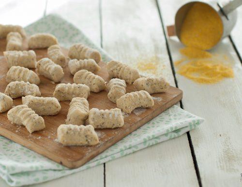 Gnocchi di polenta – solo 3 ingredienti – senza uova