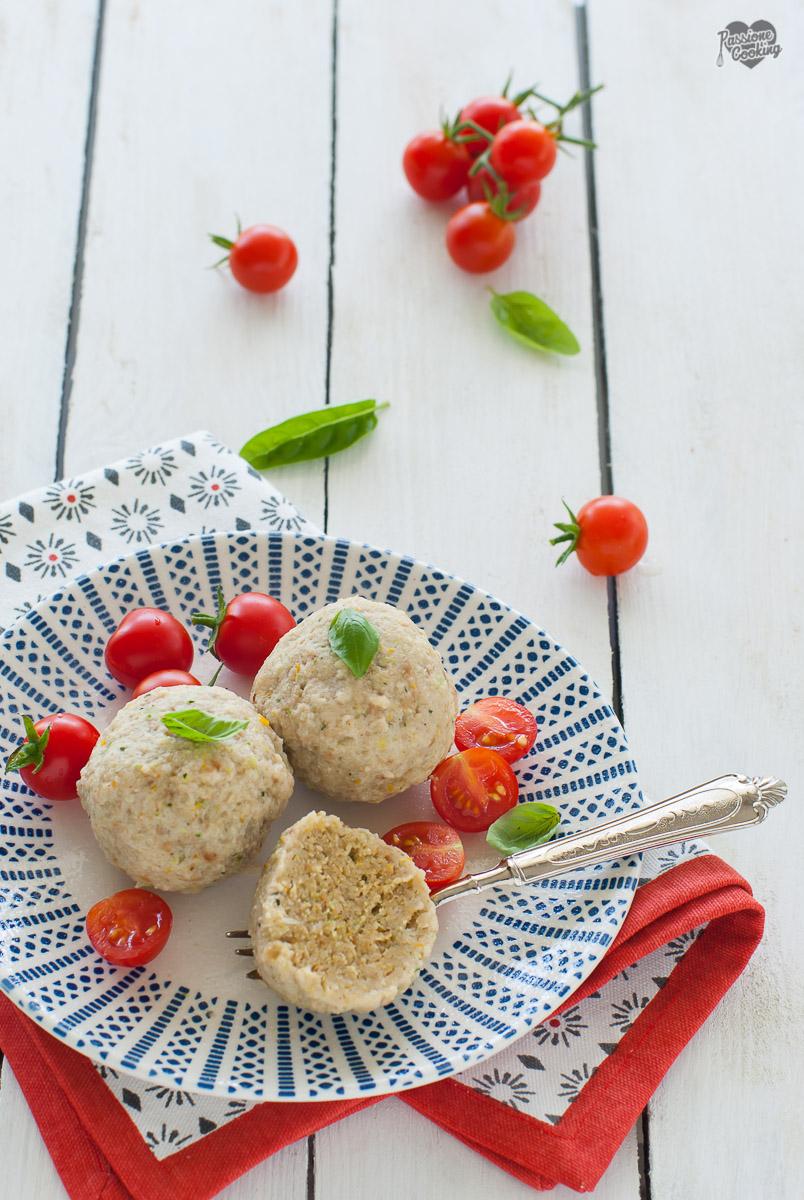 Canederli di verdure - primo piatto vegetariano