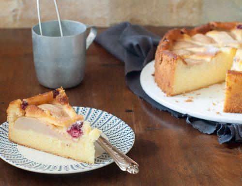 Cheesecake senza base con le pere – senza glutine