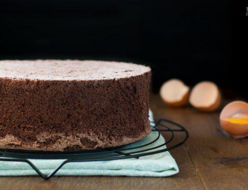 Pan di spagna al cacao – ricetta base