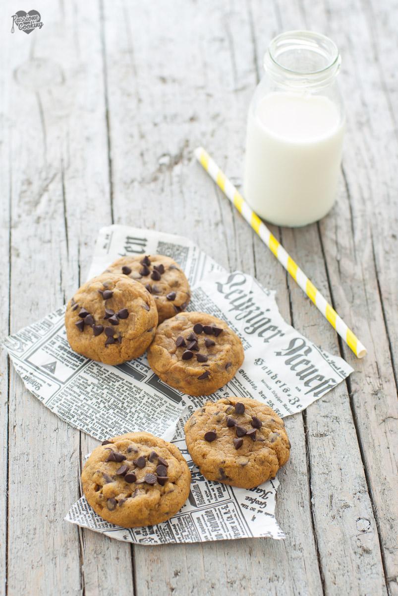 Biscotti zucca e cioccolato - morbidi e speziati