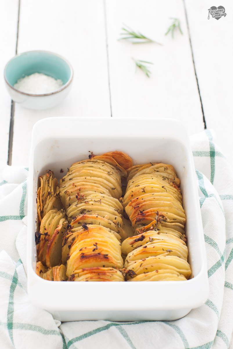 Sfoglie di patate croccanti ed aromatizzate