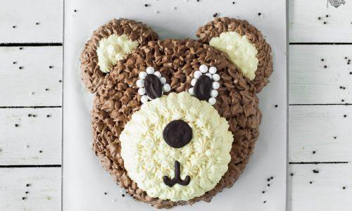 Torta orsetto con doppia mousse al cioccolato