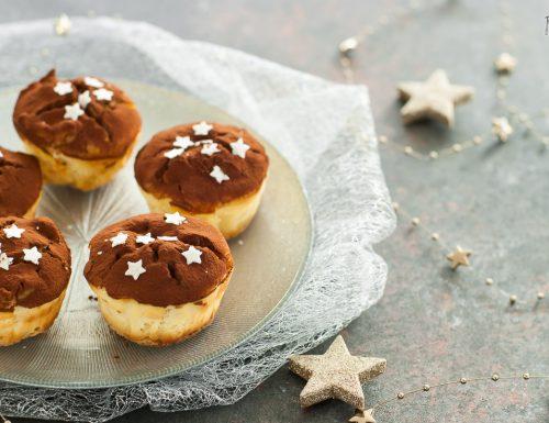 Cheesecake muffin allo zenzero