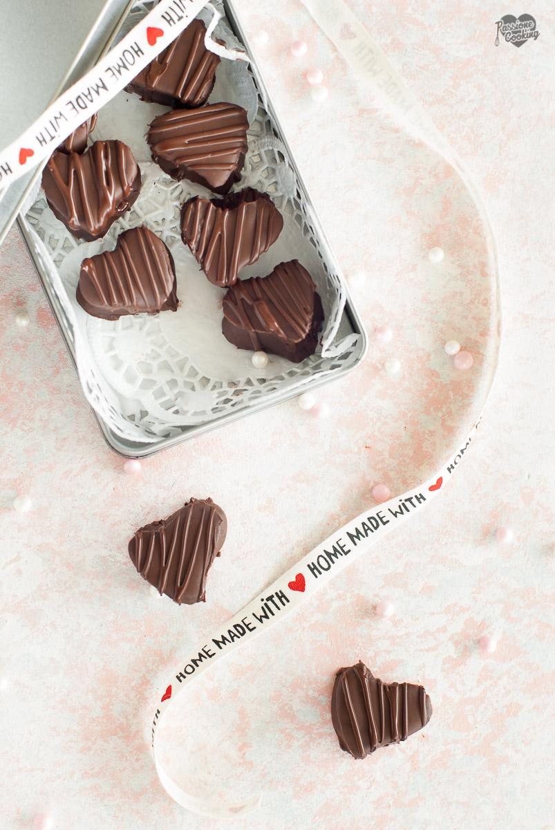 Cioccolatini Fatti in Casa Senza Stampo