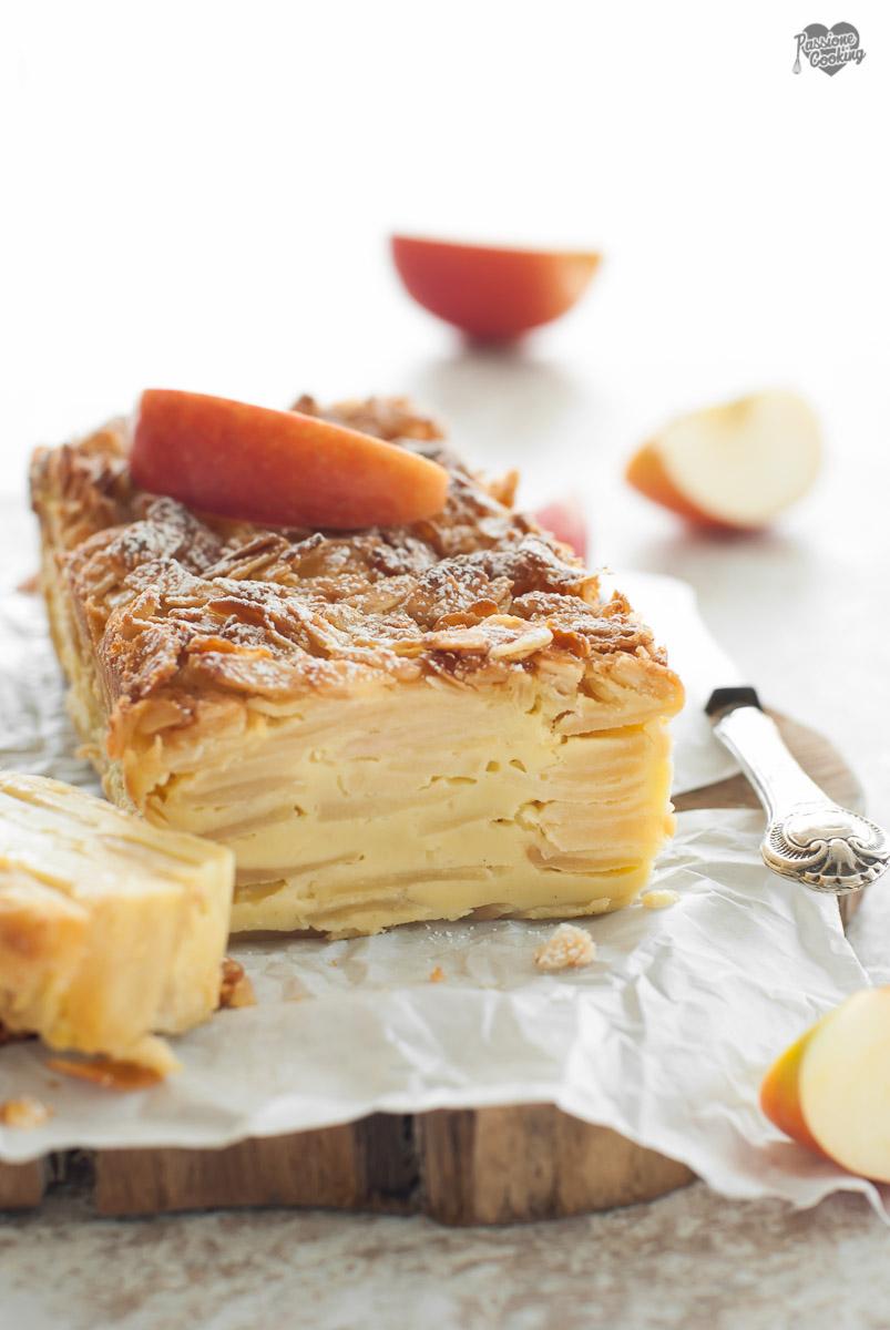 Torta di mele invisibile - con poco zucchero