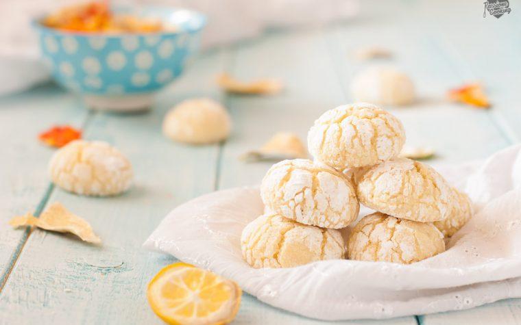 Crinkle cookies agli agrumi e cocco – morbidi e profumati