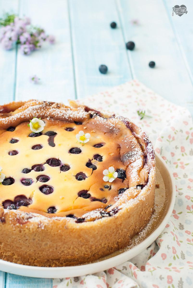 Cheesecake Cotta con Ricotta e Latticello
