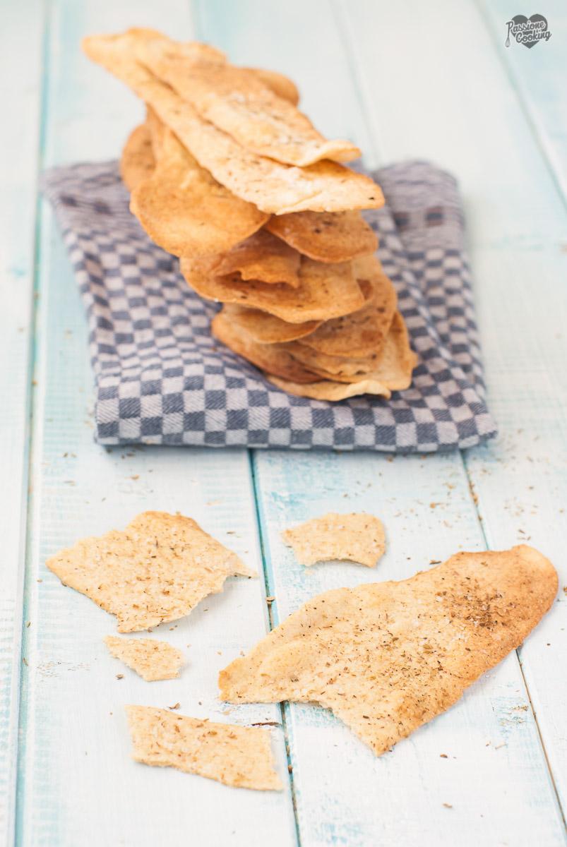 Cracker con Lievito Madre – Esubero