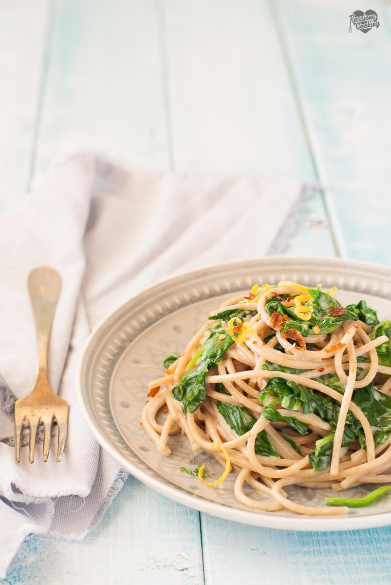 Pasta con Mascarpone e Spinaci – Fresca e Leggera