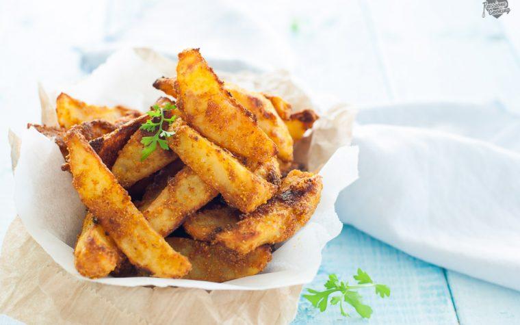Patate speziate al forno, croccanti e gustosissime