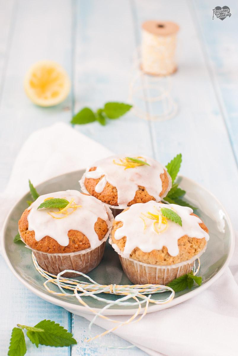 Muffin al limone e yogurt - semplici e profumati