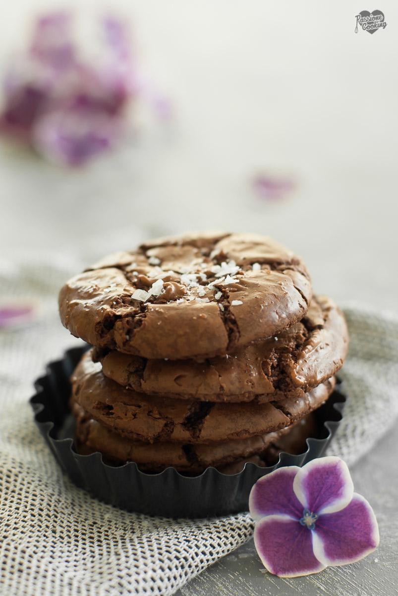 Cookies americani al cioccolato fondente