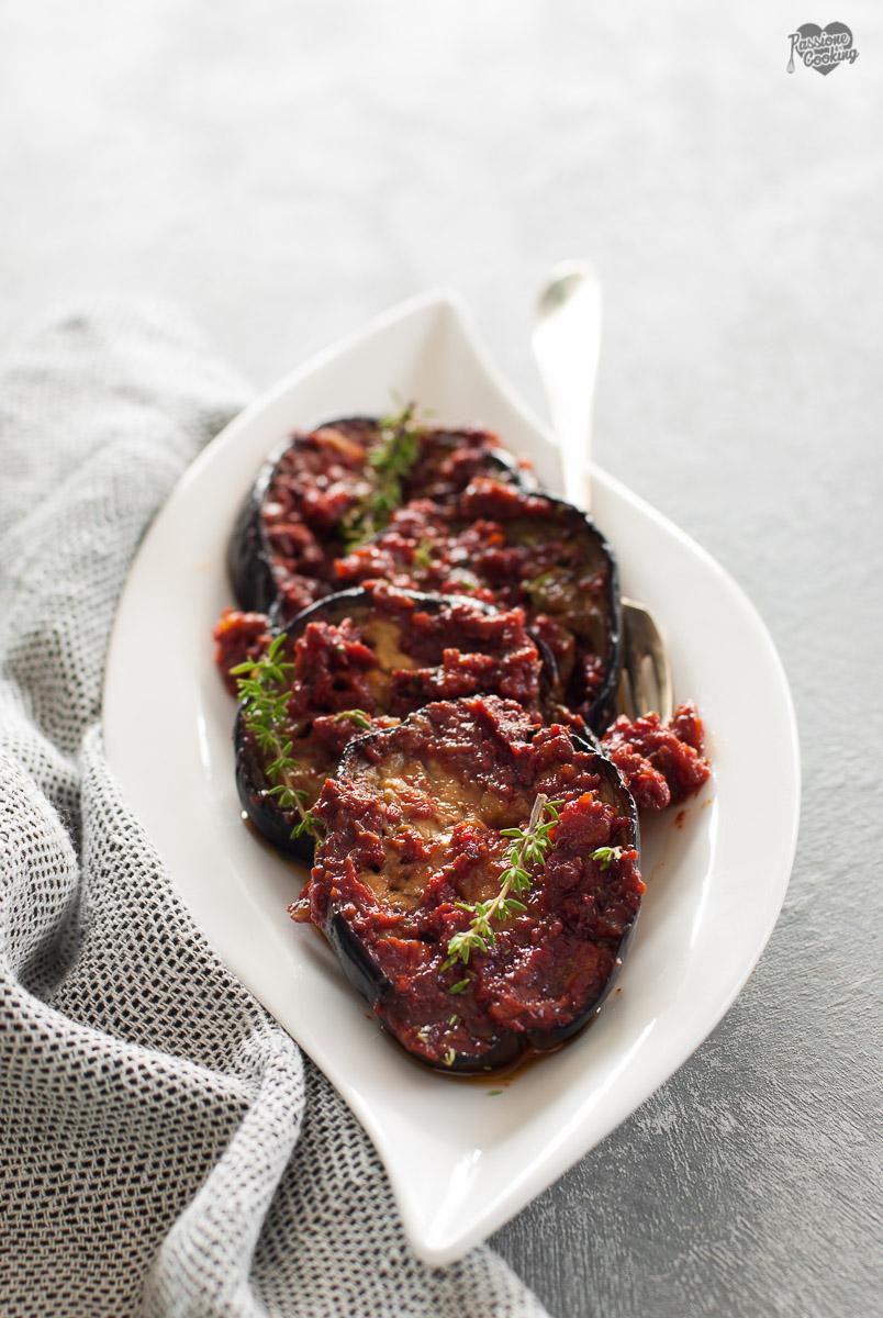 Melanzane al forno con pomodoro - contorno saporito