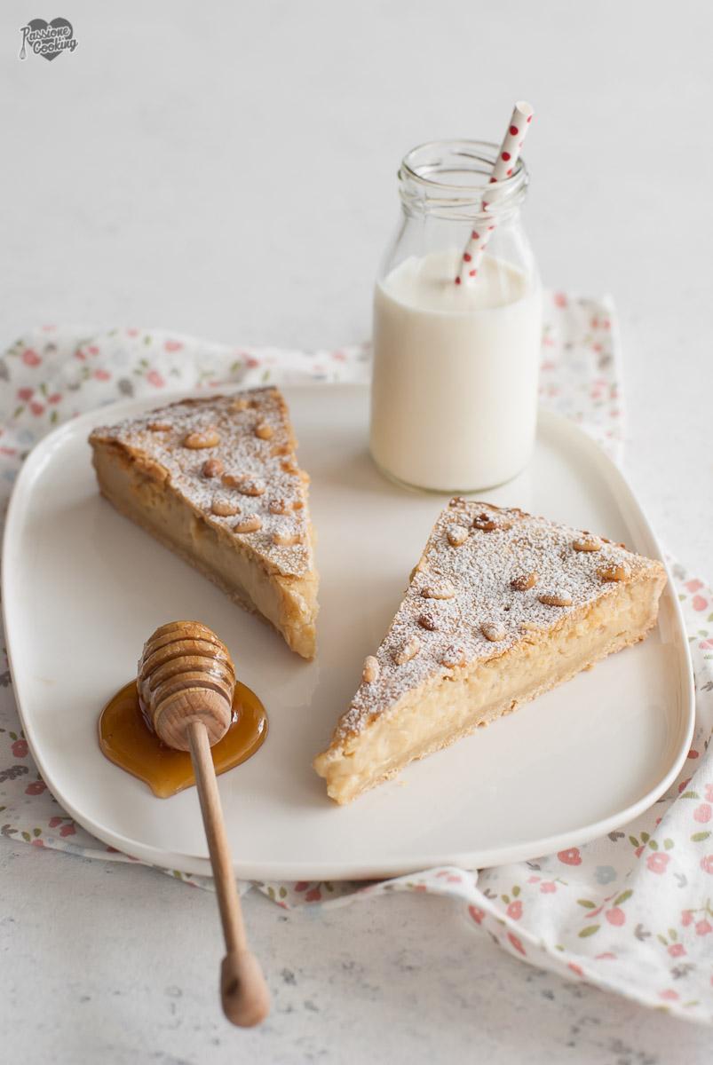 Crostata della nonna al miele - delicata ed avvolgente