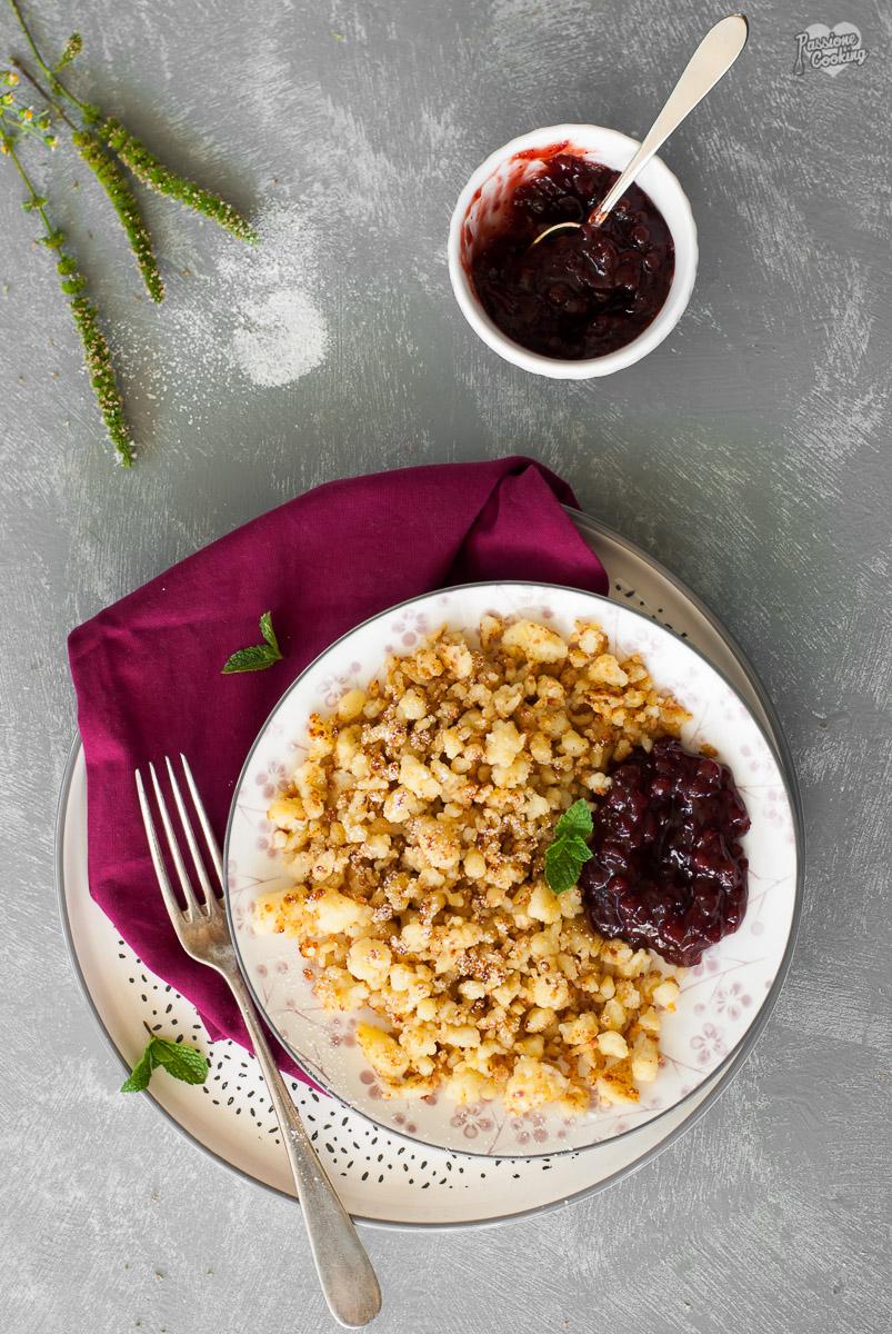 Erdäpfelriebel - specialità dell'Alto Adige