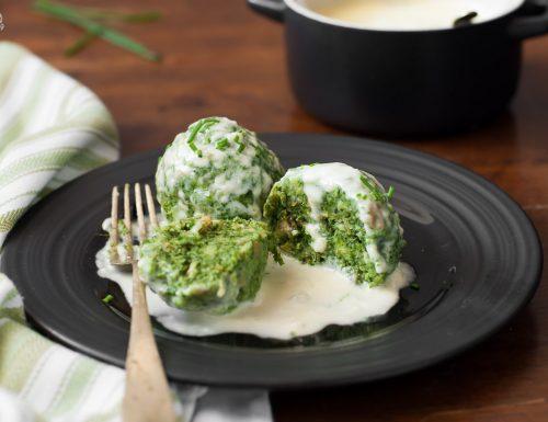 Canederli di spinaci – ricetta tipica dell'Alto Adige
