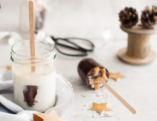 Cioccolata calda su stecco – regalo fai da te