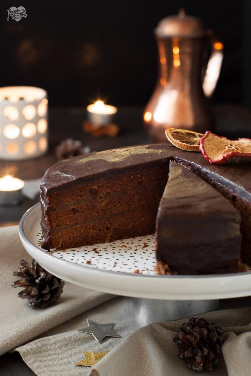 Torta Sacher speziata - versione natalizia