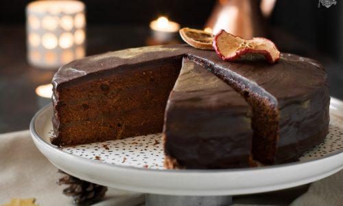 Torta Sacher speziata – versione natalizia