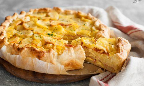Torta di patate in sfoglia – scenografica e gustosa