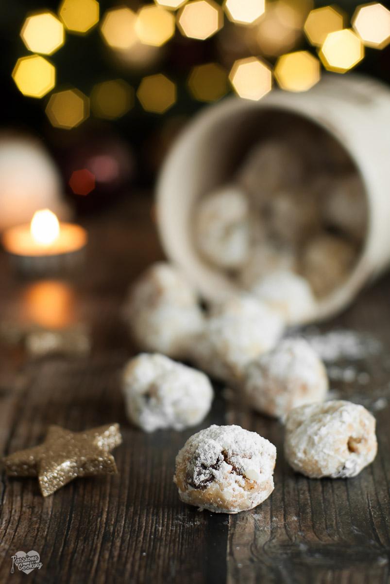 Dolci Di Natale Tedeschi.Bocconcini Di Stollen Biscotti Di Natale Tedeschi Passionecooking